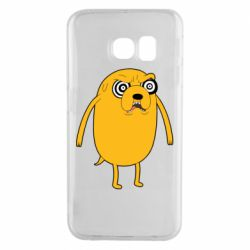 Чохол для Samsung S6 EDGE Jake from  Adventure Time
