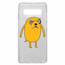Чохол для Samsung S10+ Jake from  Adventure Time