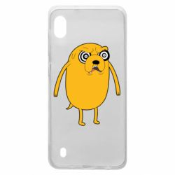 Чохол для Samsung A10 Jake from  Adventure Time
