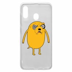 Чохол для Samsung A20 Jake from  Adventure Time