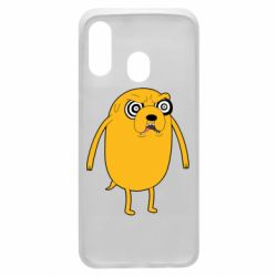 Чохол для Samsung A40 Jake from  Adventure Time