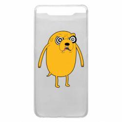 Чохол для Samsung A80 Jake from  Adventure Time