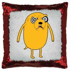 Подушка-хамелеон Jake from  Adventure Time