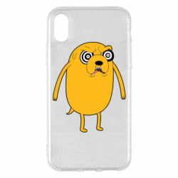Чохол для iPhone X/Xs Jake from  Adventure Time