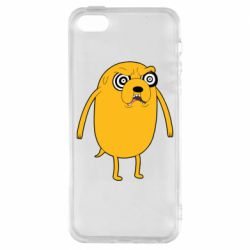 Чохол для iphone 5/5S/SE Jake from  Adventure Time