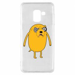 Чохол для Samsung A8 2018 Jake from  Adventure Time