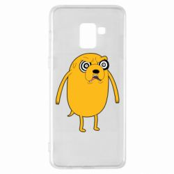 Чохол для Samsung A8+ 2018 Jake from  Adventure Time