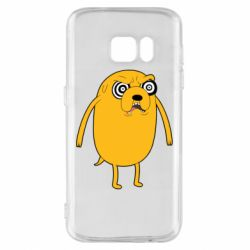 Чохол для Samsung S7 Jake from  Adventure Time