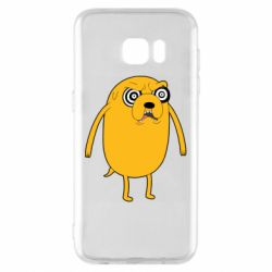 Чохол для Samsung S7 EDGE Jake from  Adventure Time