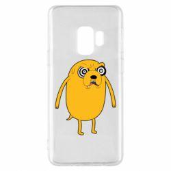 Чохол для Samsung S9 Jake from  Adventure Time