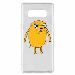 Чохол для Samsung Note 8 Jake from  Adventure Time