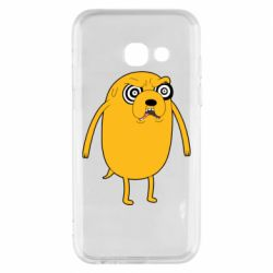 Чохол для Samsung A3 2017 Jake from  Adventure Time