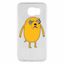 Чохол для Samsung S6 Jake from  Adventure Time