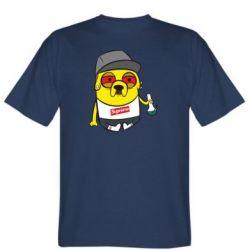 Мужская футболка Jake with bong - FatLine