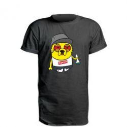 Удлиненная футболка Jake with bong - FatLine
