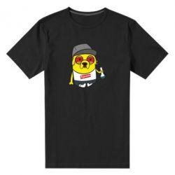 Мужская стрейчевая футболка Jake with bong - FatLine