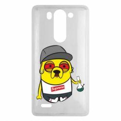 Чехол для LG G3 mini/G3s Jake with bong - FatLine