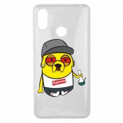 Чехол для Xiaomi Mi Max 3 Jake with bong - FatLine