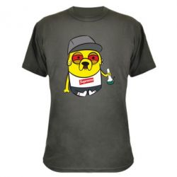 Камуфляжная футболка Jake with bong - FatLine