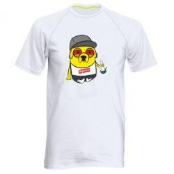 Мужская спортивная футболка Jake with bong - FatLine