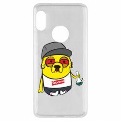 Чехол для Xiaomi Redmi Note 5 Jake with bong - FatLine