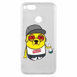 Чехол для Xiaomi Mi A1 Jake with bong - FatLine