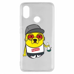 Чехол для Xiaomi Mi8 Jake with bong - FatLine