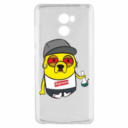 Чехол для Xiaomi Redmi 4 Jake with bong - FatLine