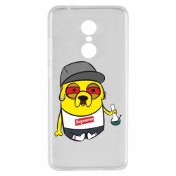 Чехол для Xiaomi Redmi 5 Jake with bong - FatLine