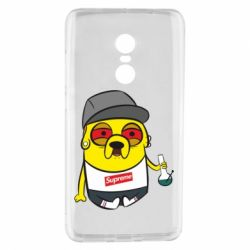 Чехол для Xiaomi Redmi Note 4 Jake with bong - FatLine