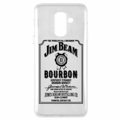 Купить Jim Beam, Чехол для Samsung A6+ 2018 James Beam whiskey, FatLine