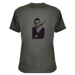 Камуфляжная футболка James Bond - FatLine