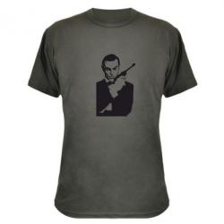 Камуфляжная футболка James Bond