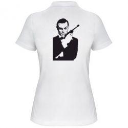Женская футболка поло James Bond - FatLine