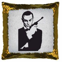 Подушка-хамелеон James Bond