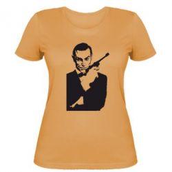Женская футболка James Bond - FatLine