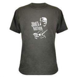 Камуфляжная футболка James Hetfield - FatLine