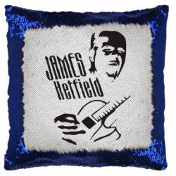 Подушка-хамелеон James Hetfield