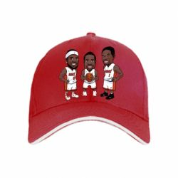"Кепка ""James, Wade and Bosh"""