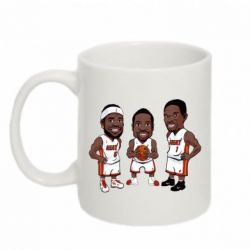"Кружка 320ml ""James, Wade and Bosh"" - FatLine"