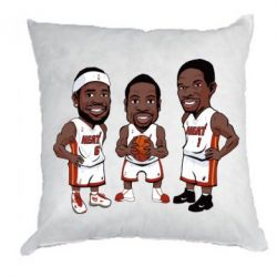 "Подушка ""James, Wade and Bosh"""