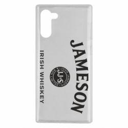 Чохол для Samsung Note 10 Jameson Whiskey