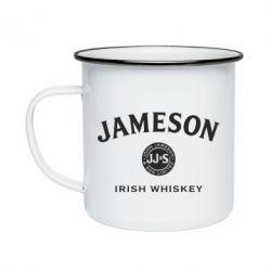 Кружка емальована Jameson Whiskey