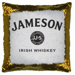 Подушка-хамелеон Jameson Whiskey