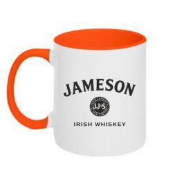 Кружка двоколірна 320ml Jameson Whiskey