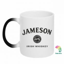 Кружка-хамелеон Jameson Whiskey