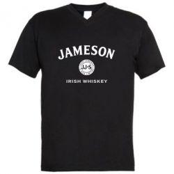 Чоловіча футболка з V-подібним вирізом Jameson Whiskey