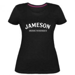 Женская стрейчевая футболка Jameson - FatLine