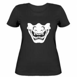 Женская футболка Japanese mask