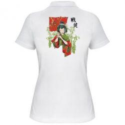 Жіноча футболка поло Japanese